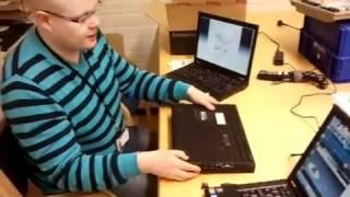 Lenovo ThinkPad T410 sim kortin asennus