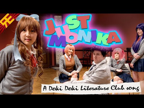 JUST MONIKA A DDLC song feat. OR3O & Adriana Figueroa by Random Encounters