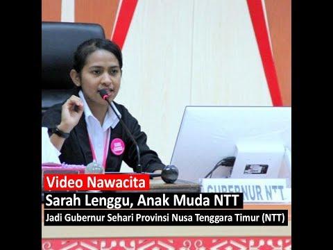 Xxx Mp4 Sarah Lenggu Anak Muda NTT Yang Jadi Gubernur Sehari Provinsi Nusa Tenggara Timur 3gp Sex