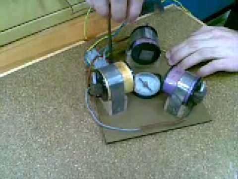 Principio de funcionamiento de un motor asincrono trifasico 1 de 2