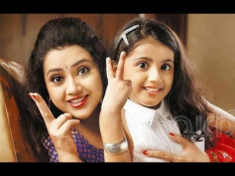 Actress Meena Family Video , Meena's Husband Daughter Nainika Unseen Cute Video