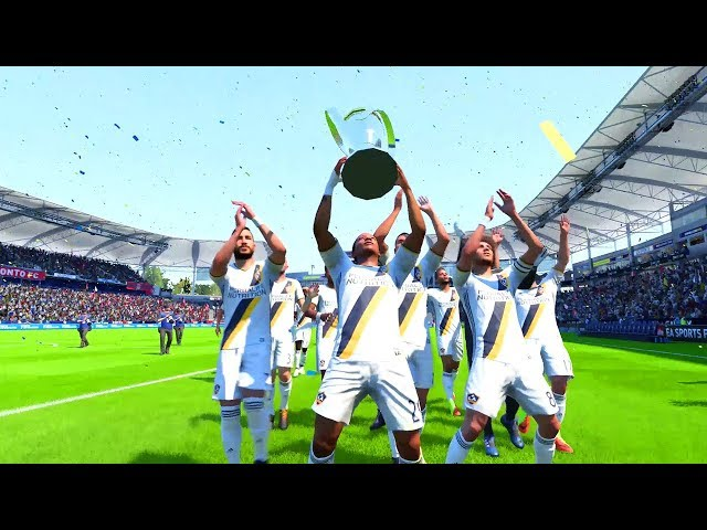 What Happens When Alex Hunter Wins The Mls Cup (FIFA 18 THE JOURNEY)