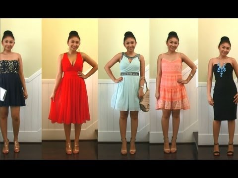 5 Wedding Guest Dresses! Cute Lulu*s Dresses for Prom, Homecoming, Formals, Events!