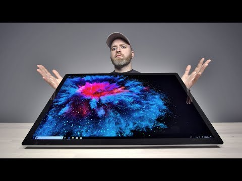 The Enormous Microsoft Surface Studio 2