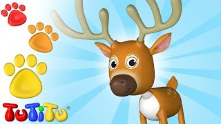 TuTiTu Animals | Animal Toys for Children | Deer and Friends