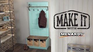 Door Hall Tree - Make It With Menards