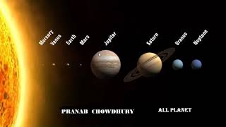 DETAILS OF ALL PLANETS OF SOLAR SYSTEM ( Bengali)🔥🔥