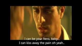 Enrique Iglesias Hero Original MV Lyrics On Screen