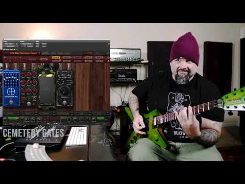 Xxx Mp4 Wes Hauch Demonstrates Dimebag Darrell CFH Collection For AmpliTube 3gp Sex