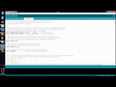 RAMPS 1.4 3D Printer: Bluetooth Setup 2, Configure and Connect