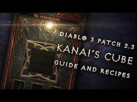 Diablo 3 Patch 2.3: Kanai's Cube Walkthrough and Recipes (Spoilers, PTR)
