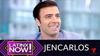 Latinx Now! | Exclusiva: Jencarlos Canela revela detalles de su primer beso | Telemundo