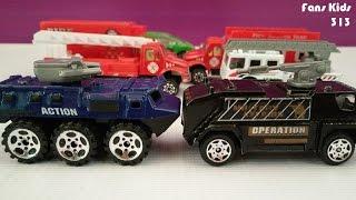Mobil - mobilan bertabrakan I Vidio Mainan buat anak