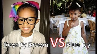 Who's Richer Royalty Brown  Or Blue Ivy Carter 2017 [Royalty Brown & Blue Ivy Net Worth ]