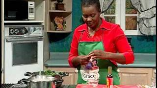 Meatless Red Peas Stew - Grace Foods Creative Cooking Traditional Jamaican Dishes