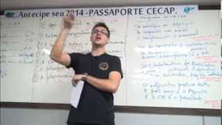 Aulão especial de Língua Portuguesa / Professores:Sidney Martins e Lincoln Moura