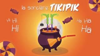Halloween - Chanson pour enfants - Chanson thème Sorcière Tikipik