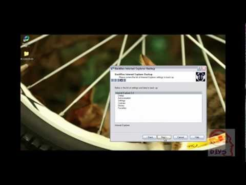 Xxx Mp4 How To Back Up Amp Restore Internet Explorer Settings With BackRex 3gp Sex