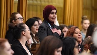 Muslim woman makes impassioned statement in House of Commons