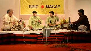 Vocal performance by The Mishra brothers | SPICMACAY Viraasat 2015