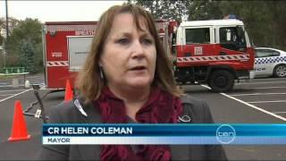 Greensborough shire office fire