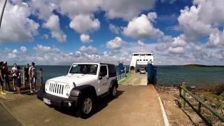 Остров Фрейзер - Австралия. Паромная переправа и дорога на остров. Как попасть на остров Фрейзер.