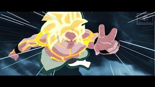 Goku vs King Atama!!