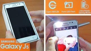 Samsung Galaxy J5 Unboxing + Camera Test