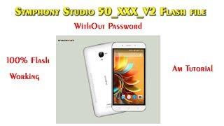 Symphony Studio 50_XXX_V2 Flash file WithOut Password