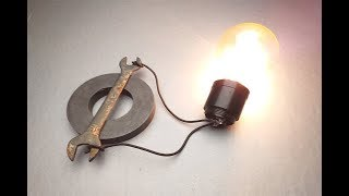 Electric Science Free Energy Using Magnet With Light Bulb At Home 2019.