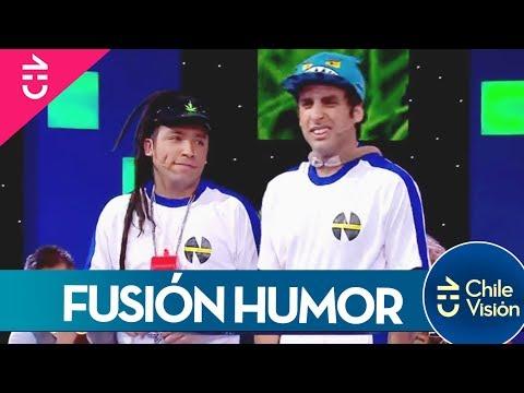 Fusión Humor hizo olvidar la eliminación de Chile con esta rutina Locos Por el Mundial