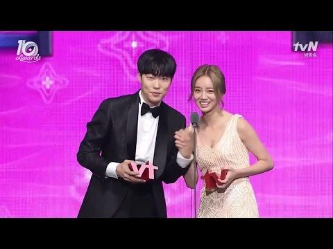 [ENGSUB/VIETSUB] Ryu Jun Yeol - Hyeri @tvN10 Awards Cut 161009