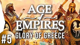 Age of Empires 1 HD ► Glory of Greece #5 - I'll Be Back!