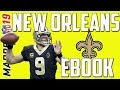 THE BEST FREE EBOOK IN MADDEN 19! NEW ORLEANS SAINTS OFFENSE!