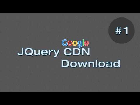 Google Jquery CDN +  JQuery Download File
