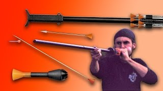 BEST BLOWGUN ON THE MARKET! Zombie Go Boom!