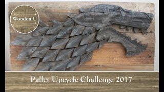 Pallet Upcycle Challenge 2017 - Wooden U