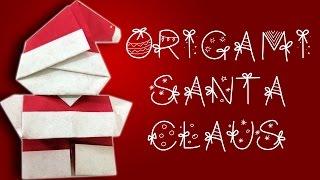 [Christmas Crafts] Origami Santa Claus