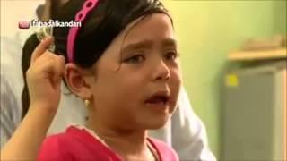 طفله عمرها خمس سنوات ماذا تقول على القرآن الكريم و هي تبكي .. لا تفوتكم