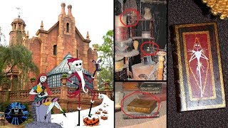 Disney World's Haunted Mansion Secret Nightmare Before Christmas Easter Eggs