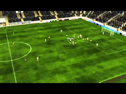 BMG vs Dortmund - G�ndogan Goal 65 minutes