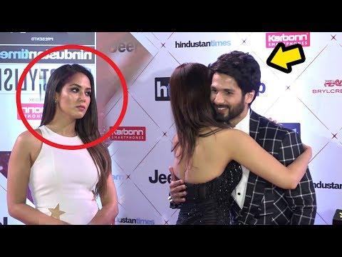Xxx Mp4 Shahid Kapoor S Wife Meera Rajput S JEALOUS Reaction When Shahid Hugs HOT Vani Kapoor 3gp Sex