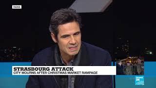 Strasbourg market attacker: