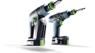 The extra-small Festool cordless drills: CXS and TXS