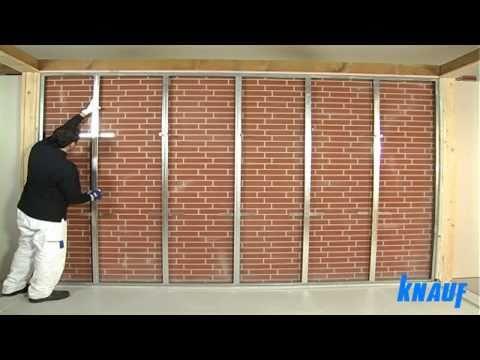Contropareti collegamento a muro con struttura in cartongesso coimperTV
