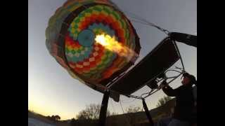 Balloon Burn inflation... slow motion