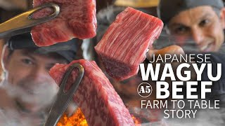 Japanese Wagyu Beef Story (from Farm to Table) ★ ONLY in JAPAN