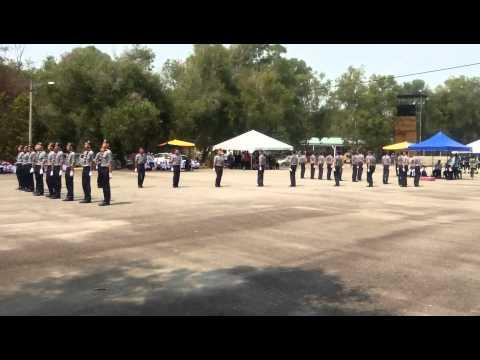 SMK Jalan Damai Kawad Kaki Peringkat Daerah 2014