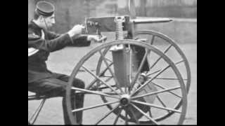 Gattling and Maxim Develop the Fully Automatic Machine Gun