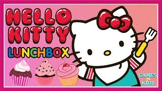 Hello Kitty Lunch Box  - Learn Cooking For Kids - Cook Yummy Cupcake Baby Games